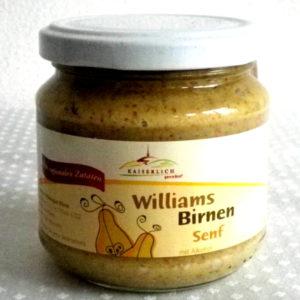 Williams - Birnen - Senf